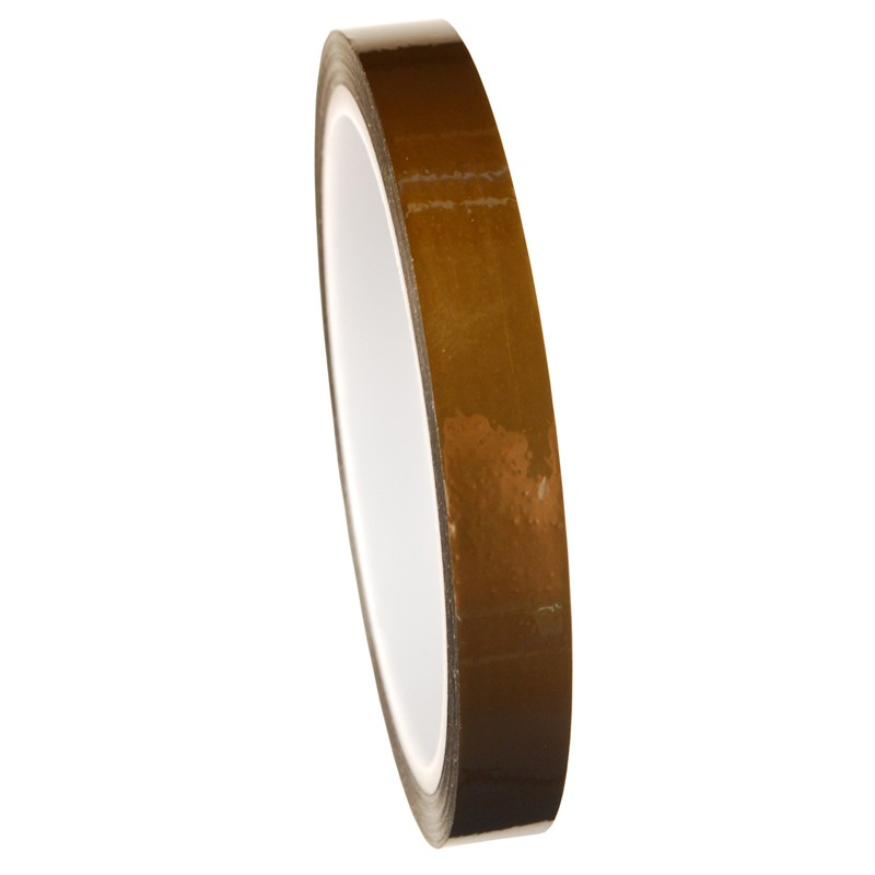 81271-TAPE, WESCORP, ESD, POLYIMIDE, HI TEMP, 1/2 IN x 36 YDS