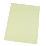 ESD WRITING PAD, YELLOW, 60 SHEETS, 8-1/2''x11'', 5 PER PK