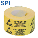 LABEL, SUSCEPTIBILITY, 5/8 IN X 2 IN, 500/ROLL