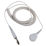 CORD, COILED, LITE, 7MM SOCKET TO BANANA, 6 FT
